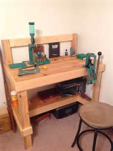 Build A Reloading Bench My Reloading Bench Reloading Bench Pinterest Shops
