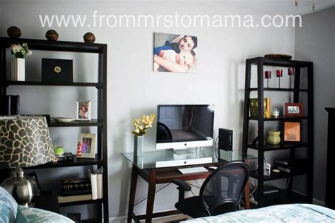 office guest room combo guest office combo http www frommrstomama 2012 09 guest bedroomoffice remodel html for