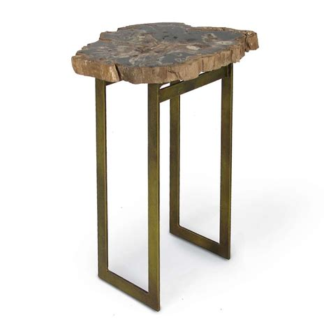 Bronze Accent Table Artistry Accent Table With Bronze Base
