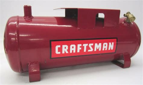 craftsman 3 gallon steel housing horizontal air compressor tank ebay