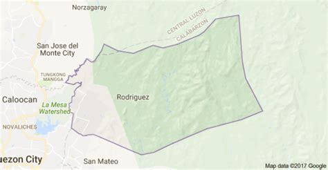 san jose rodriguez rizal map rizal suspect killed ex official in romblon