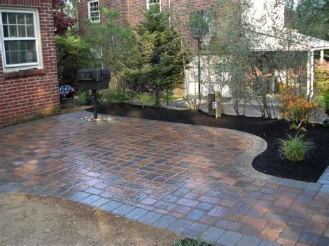 Paved Backyard Ideas Patio Paver Ideas Excellent Outdoor Patio Designs Grezu