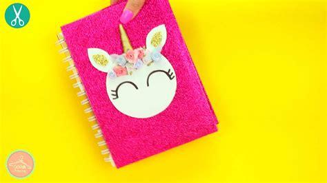 cuadernos decorados de unicornio con foami 3 manualidades f 225 ciles de unicornio catwalkcanal