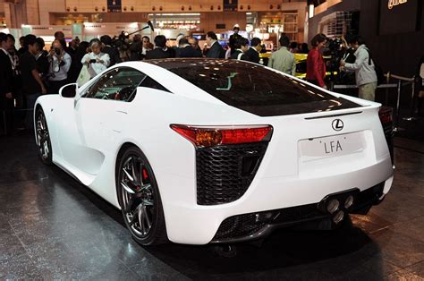 lexus lfa 2010 new 2010 lexus lfa supercar officially revealed photos