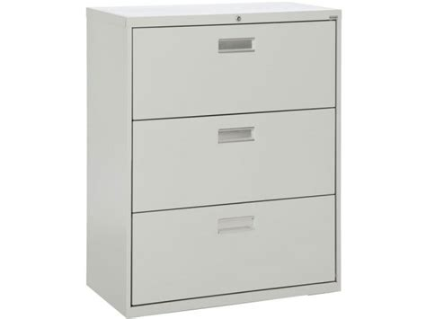 Lateral Metal File Cabinets 600 Series Lateral File Cabinet 3 Drawer 36 Quot W Sfl 363 Metal File Cabinets