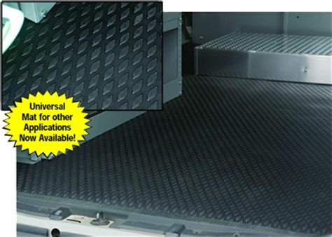 Below Floor Cargo Management System Cargo Area Mat For Sprinter Vans Custom Rubber Rugs American