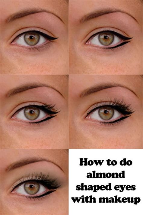 Eyeliner Make Up maquillaje para almendrar los ojos make up looks
