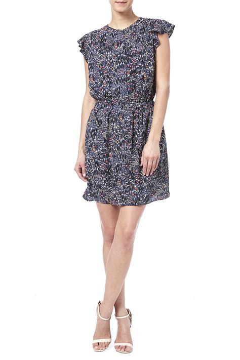 Ruffle Dress B L F collective concepts ruffle flutter dress from montana by
