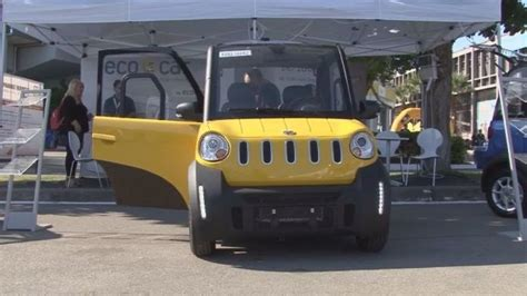 Electric Cars For Sale In Greece The Electric Vehicle Ecocar Hits The Road