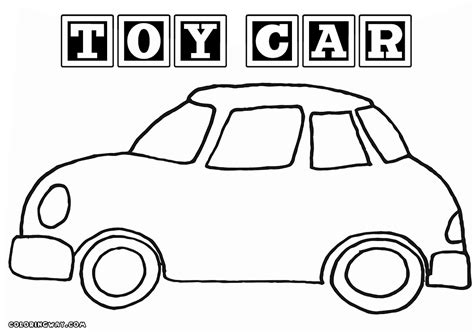 coloring pages of toy cars toy car coloring pages coloring pages to download and print