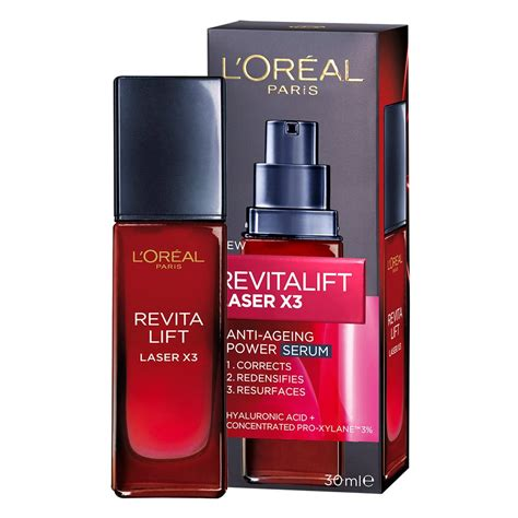 Serum Loreal Revitalift buy revitalift laser x3 anti ageing power serum 30 ml by l