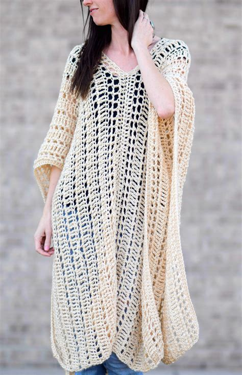 crochet poncho casablanca summer poncho crochet pattern in a stitch