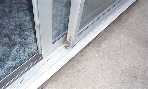Sliding Patio Doors Sliding Glass Door Seal Repair