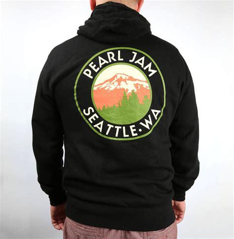 Hoodie Pearl Jam Pearl Jam Mountain View Zip Hoodie Shop