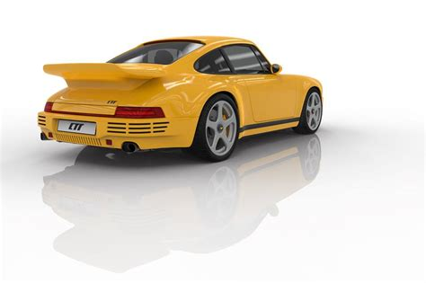 porsche ruf ctr 2017 2017 ruf ctr borrows infamous yellowbird look skips 911