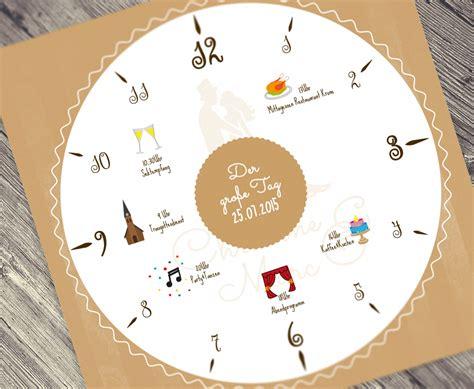 Hochzeitseinladung Zeitplan by Ein Katalog Unendlich Vieler Ideen