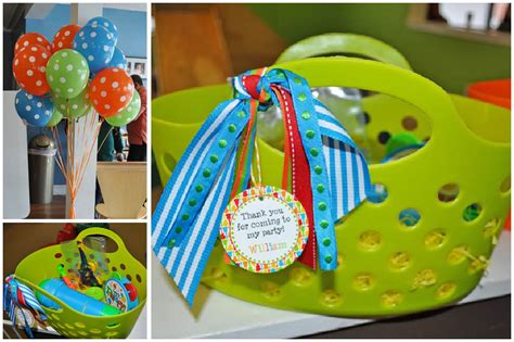 1st Birthday Party Giveaways - music themed 1st birthday party pizzazzerie