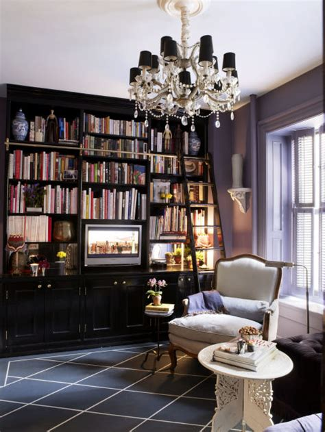 Myra Hoefer home library design ideas pictures of home library decor