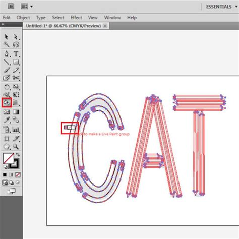 how to use stationary brushes and live paint tool in adobe illustrator howtech
