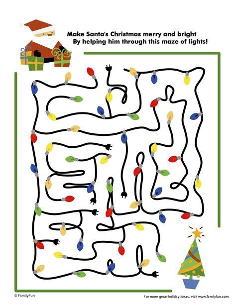 free printable christmas maze games resources for teachers lake charles civic ballet