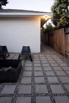 Square To Yards Of Gravel by Square Pavers With Gravel Could Be A Great Solution For