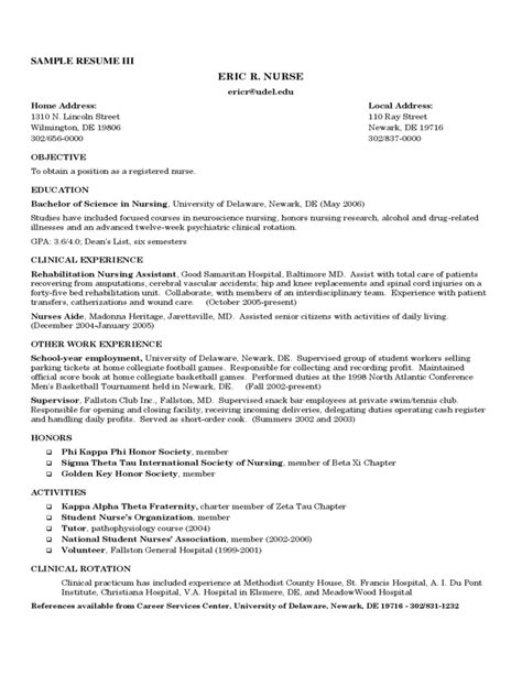 Resume Templates Registered Free by Registered Resume Sle Free