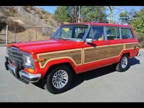 jeep grand wagoneer woody 1 owner new paint wood amc