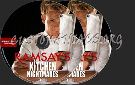 Kitchen Nightmares Season 7 Dvd Ramsay S Kitchen Nightmares Series 3 Dvd Label Dvd