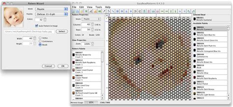 bead pattern design software free download beading arts free bead pattern program