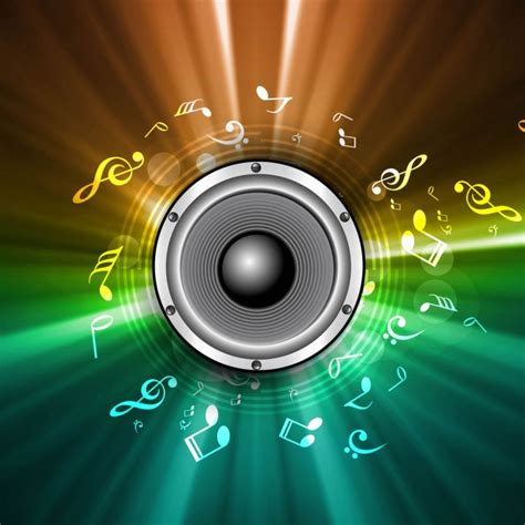 speaker background colorful speaker background vector free