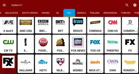 redbox app for android redbox tv apk best free live tv on all android devices