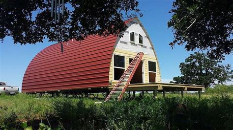 pre built homes 10k prefab arched cabins provide cozy customizable homes for