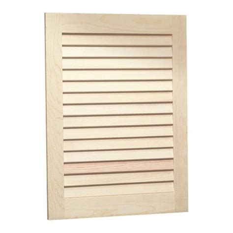 Unfinished Louvered Cabinet Doors Medicine Cabinet Unfinished Wood Louver Door Steel 16w X 22h In Medicine Cabinet