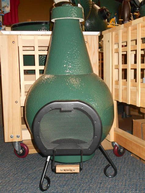 Green Egg Chiminea big green egg chiminea big green egg