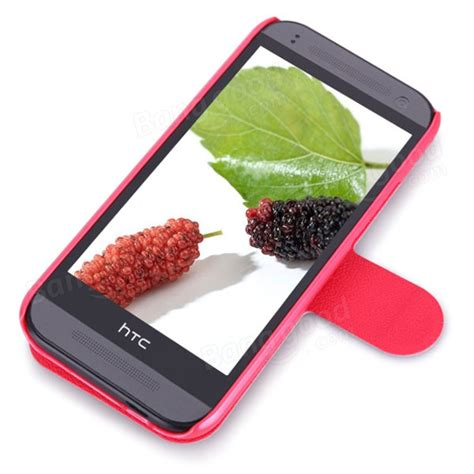 Htc One M8 Nillkin Fresh Series Leather nillkin fresh series flip leather for htc one mini 2 m8 mini us 7 11 sold out