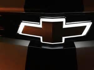 Chevrolet Logo Light New Light Up Front Emblem Feature For The 2016 Chevrolet