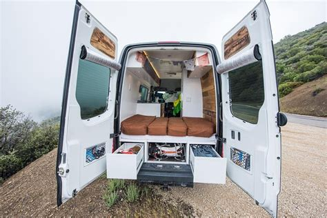 best vans for cer conversion custom sprinter conversions townsend travel trailers