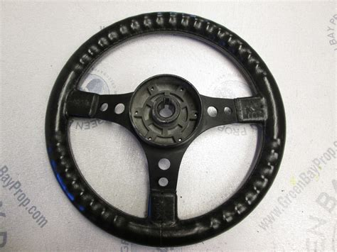 13 inch dino boat steering wheel for a 1987 bayliner capri - Dino Boat Steering Wheel