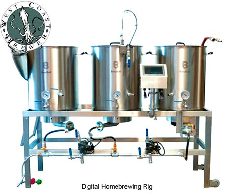 new digital touch screen homebrewing system from more