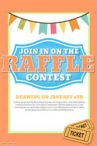 raffle poster templates raffle template postermywall