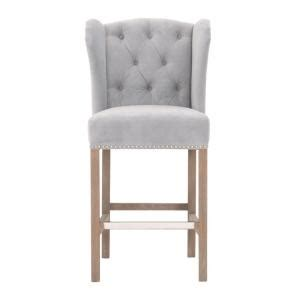 madelyn counter stool stone wash fog velvet grey kitchen home decorators collection madelyn 27 25 in stone wash