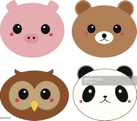 imagenes kawaii de muñecas kawaii animals vector art getty images