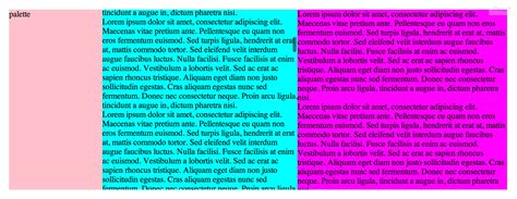 column layout work html how can i make this 100 height column overflow