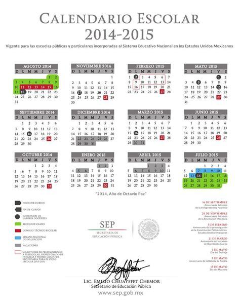 Calendario De La Escuela 2015 Residentes Sep Regreso A Clases 18 De Agosto Calendario