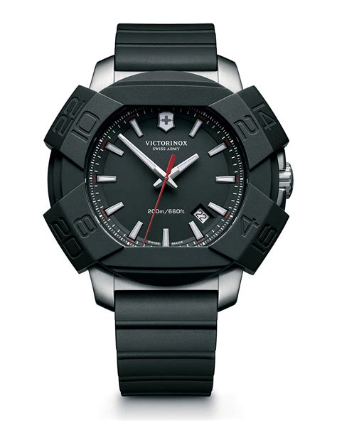 rugged watches for victorinox i n o x rugged with protective cover in black for lyst