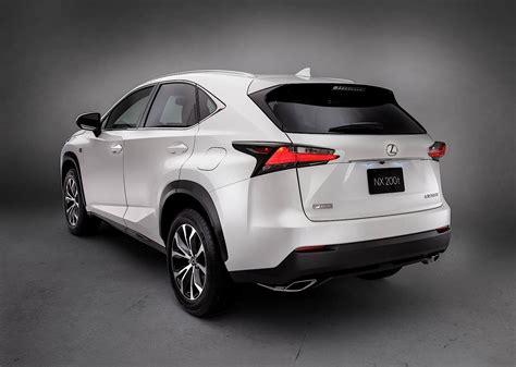 lexus nx specs 2014 2015 2016 2017 autoevolution