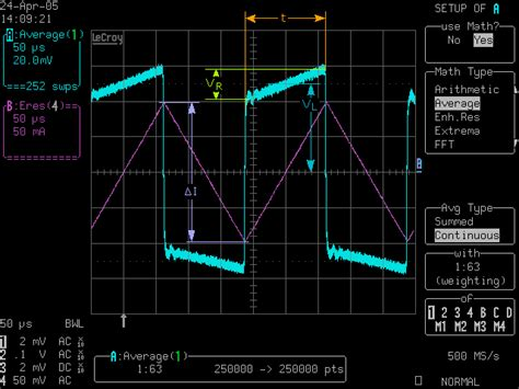 measure inductance with function generator measuring inductance electronic measurements