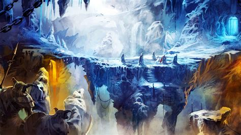 frozen cave  trine  wallpapers hd wallpapers id