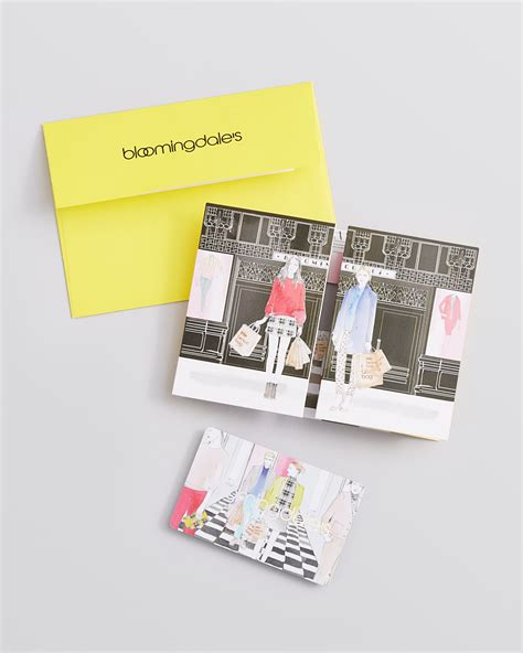 Bloomingdale Gift Card - bloomingdale s fashion packed life gift card with envelope bloomingdale s