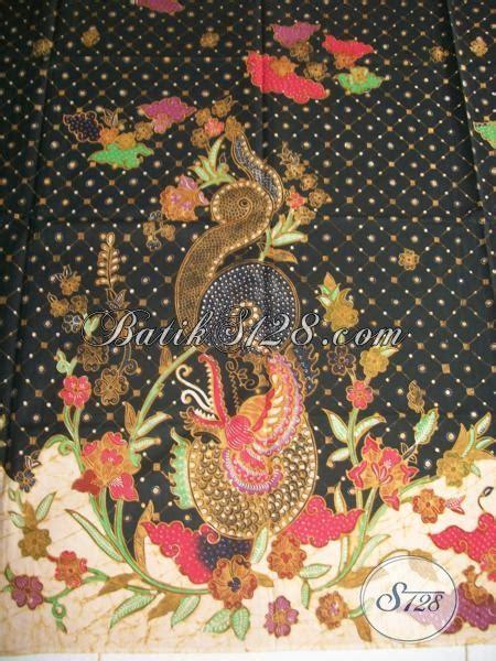 Batik Tulis Asli Naga motif batik naga warna hitam batik tulis halus bahan bagus k1301tgp toko batik 2018